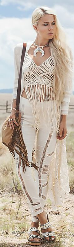 Boho chic. For more follow www.pinterest.com/ninayay and stay positively #inspired