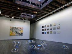"""Amazing installations! likeafieldmouse: """" Luka Fineisen - Bubbles (2010) - Plastic """"."""