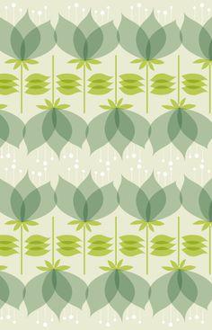 """Ce """"pattern"""" est rythmé a cause du motif qui se répète."""