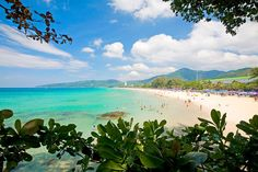 #Finnmatkat Karon Beach, Phuket, Mountains, Nature, Travel, Viajes, Naturaleza, Destinations, Traveling