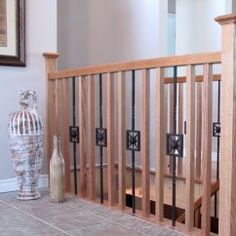 Update Your Interior Railing While Keeping Costs At A Minimum. | Home |  Pinterest | Interiors, Banisters And House