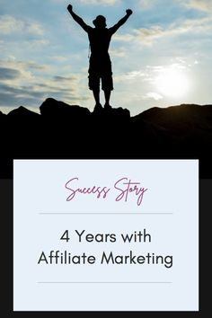 4 Years with affiliate marketing what can that look like? Read this success story to find out; #affiliate Make Money Blogging, Make Money From Home, How To Make Money, Get Out Of Debt, Success Story, Seo Tips, 4 Years, Looking Back, Affiliate Marketing