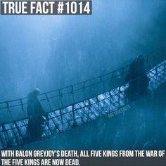 Pilou Asbæk as Euron Greyjoy and Patrick Malahide as Balon Greyjoy (GoT, season 6)