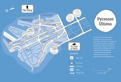 Awesome map of Pyrmont, Sydney! #Pyrmont #Sydney #culture #transport #community