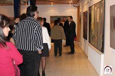 Visitantes reconocen el esfuerzo promotor de la cultura y mecenazgo de las obras de arte presentadas en el concurso.