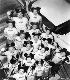 1950's Walt Disney The Mickey Mouse Club Original Photo -Lo ed watching this TV show