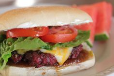 Traeger's Smoked Whiskey Burgers