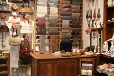 """My absolute favourite magazine Selvedge, which has just celebrated it's issue, has created a beautiful """"pop up"""" shop at Anthropologie . Kiss Books, Tailor Shop, Cafe Design, Haberdashery, Pop Up, Liquor Cabinet, Anthropologie, Storage, Holiday Decor"""