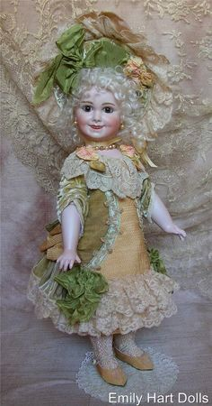 Rare Jumeau 203 this doll is still in Emily Hart's personal collection
