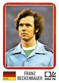 89 Franz Beckenbauer - W. Germany - FIFA World Cup München 1974