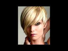 Cortes de pelo para cabello corto Mujer 2015 - YouTube