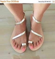 SUMMER SALES womens leather sandals Greek by GrecianSandals