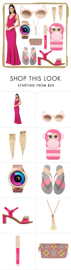 """""""Buy it and feel it"""" by denisee-denisee ❤ liked on Polyvore featuring Zac Posen, Kyme, Kenneth Jay Lane, Kate Spade, ZIIIRO, Tkees, Dolce&Gabbana, Emily & Ashley, Stila and SEP"""