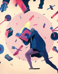 Rune Fisker, Illustration