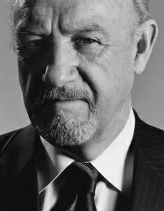 """Eugene Allen """"Gene"""" Hackman (born January is a American actor and novelist. Hollywood Icons, Classic Hollywood, Old Hollywood, Brandon Routh, Kevin Spacey, Films Cinema, Actor Studio, Celebrity Portraits, Iconic Movies"""