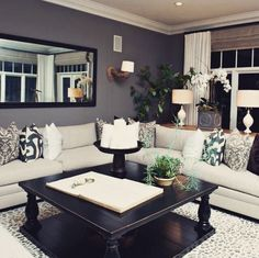 ABSOLUTELY STUNNING, THIS ROOM IS SO WARM U0026 WELCOMING, WITH A. Gray Living  RoomsContemporary ...