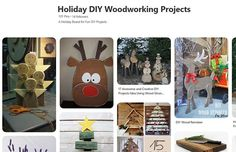 Christmas Projects, Christmas Fun, Holiday, Wood Reindeer, Wooden Gifts, Woodworking Projects Diy, Cool Diy Projects, Some Fun, Don't Forget