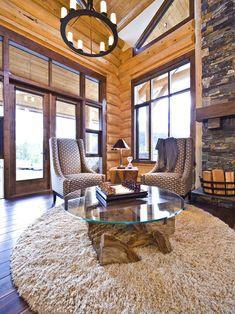 Okanagan log home design