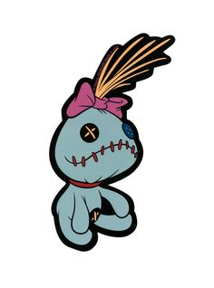 Disney Lilo & Stitch Scrump Sticker | Hot Topic