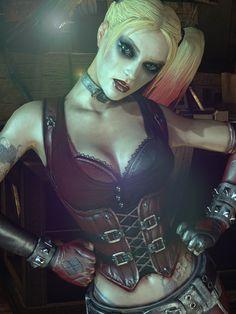 DET :: The Art Of Gaming Batman Arkham City, Gotham City, Harley Quinn Cosplay, Joker And Harley Quinn, Margot Robbie Harley, Daddys Lil Monster, Gotham Girls, Supergirl, Marvel Dc