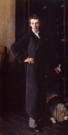 portrait of W. Graham Robertson (John Singer Sargent - 1894)