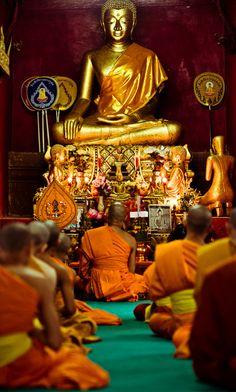 Wat Sensoukarahm, Luang Prabang, Laos. (por Flash Parker)