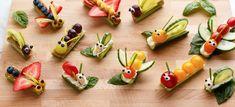Fruit and Vegetable Bug Snacks - Eat this - Rezept 2019 Healthy Fruits And Vegetables, Fruit And Veg, Vegetables List, Fresh Fruit, Bug Snacks, Healthy Snacks, Fruit Snacks, Veggie Snacks, Nutritious Snacks
