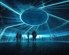 Asif Khan's UK pavilion for Astana Expo is a 'timeline of energy' soundtracked by Brian Eno