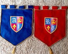 Flâmula Bandeira Rei Davi / Rei Arthur