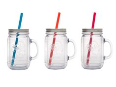 Get a handle on fantastic plastic Mason jars for inconspicuous (read: hiding in plain sight) adult beverages.Available attarget.com, $10.