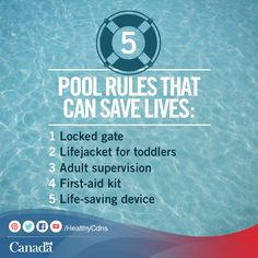Important pool rules to live by:  http://www.healthycanadians.gc.ca/recall-alert-rappel-avis/hc-sc/2005/13700a-eng.php?utm_source=pinterest_hcdnsutm_medium=socialutm_content=July8_pool_ENutm_campaign=social_media_14