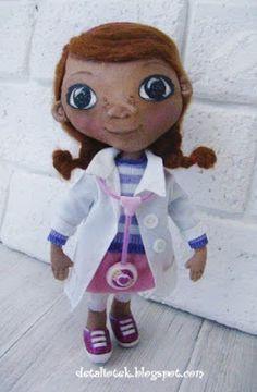 Детали от Елены: Куколка Доктор Плюшева или о том, как стать настоящим врачом))  (Doc McStuffins doll Dotty)