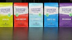 Counter Culture Coffee Branding Gets A Jolt Of Caffeinated Color