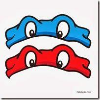máscaras de las tortugas ninja para imprimir y usar