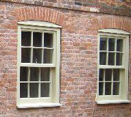 Heritage green sash windows by Merrin Joinery UK Sash Windows, Joinery, British, Green, Slider Window, Woodworking, Carpentry, Wood Workshop, British People