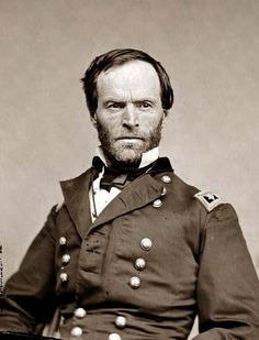Barbarous General Sherman burned Atlanta to the ground and destroyed vast areas of the Confederacy. His troops were responsible for wide-scale property destruction, rape, murder, arson and theft from the people of Georgia and South Carolina on particular.