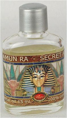 Amun-Ra-Secret Min Recipe Egyptian Oils -Set of 4- by Flaires by Spain. $32.95. The Amun-Ra essential oil is one of the sacred oils of Ancient Egypt. It uses the authentic Secret Min formula used by the ancient Egyptians in their ceremonies to Amun-Ra. Very high quality essential oil made in Spain by Flaires using high quality 100 % concentration Egyptian essential oils.
