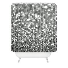 DENY DESIGNS Lisa Argyropoulos Steely Shower Curtain $79 PICK UP OR SHIPS FREE * BEST PRICE GUARANTEE