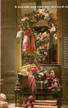 Ralph Lauren Christmas Vignette~