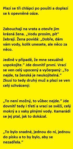 Plazí se tři chlápci po poušti.. | torpeda.cz - vtipné obrázky, vtipy a videa
