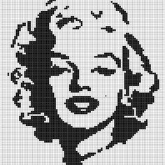 Diy Crafts - Life Hacks You Needed to Know Yesterday C2c Crochet, Crochet Cross, Tapestry Crochet, Filet Crochet, Crochet Stitches, Fuse Bead Patterns, Beading Patterns, Embroidery Patterns, Cross Stitch Charts