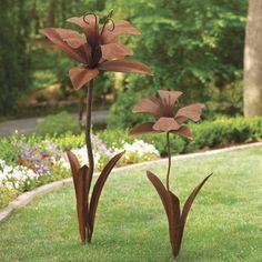 Desert Daffodil Garden Art