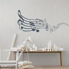 Μουσική, Διάφορα, Αυτοκόλλητα τοίχου