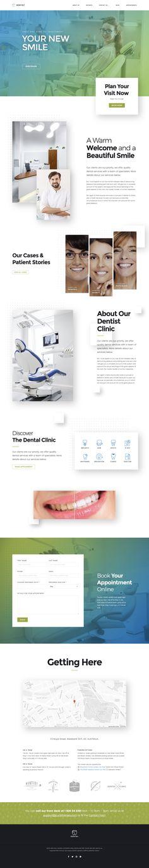 Dentist WordPress Theme | Dentist WP #dental #dental clinic #dentist • Download ➝ https://themeforest.net/item/dentist-wp-dental-wordpress-theme/20484354?ref=pxcr