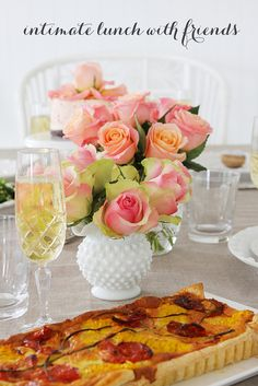 Beautiful Easter lunch by Sharnel of mylife-myloves blog. SO talented.