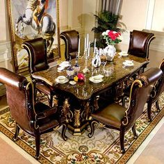 Furniture manufacturers supply custom marble dining table rectangle , you can save at least cost, provide one-stop door-to-door delivery service. Study Room Furniture, Dining Room Table Set, Table Settings, Dining Table, Italian Style Furniture, Table, Living Room Sales, Dining Table Marble, Dining Room Furniture
