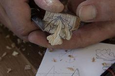 Three Oak Leaves Pendant « Giles Newman Art Wood Carving