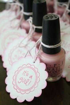 Fingernail polish for shower favor?