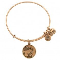 Cruise Ship Charm Bangle Russian Gold- for our 1st cruise!