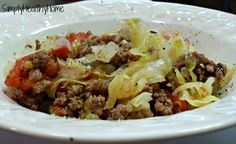 Unstuffed cabbage is the easiest way to make stuffed cabbage.